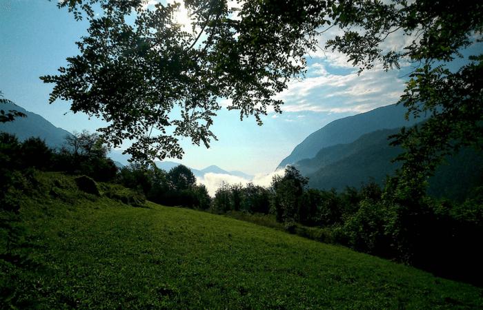 Slovenia hribi
